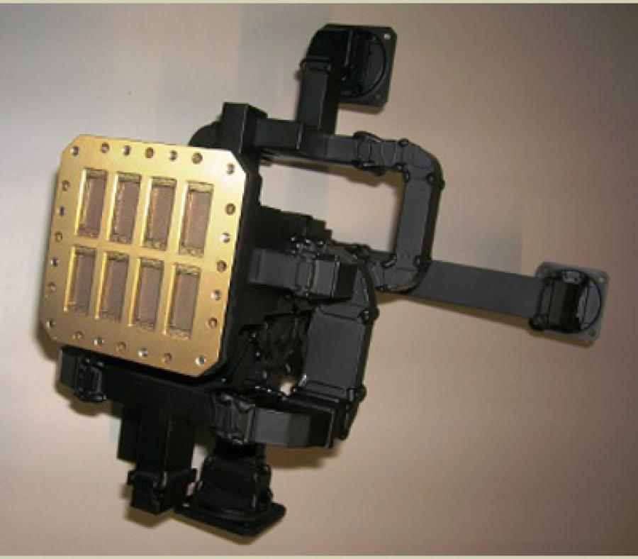 8 ports WR75 Monopulse Comparator